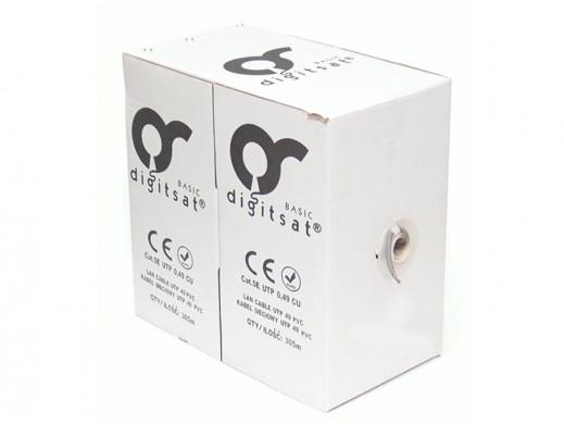 Kabel UTP 5e premium CU Digitsat żelowany