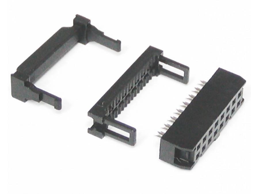 Złącze FC16/IDC16 2x8 na taśmę gniazdo żeńskie FC3016