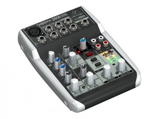 Mikser Xenyx Q502 USB 5 kanałów Behringer