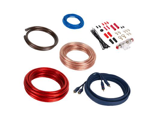 Zestaw kabli do wzmacniacza KM0011 Kruger&Matz