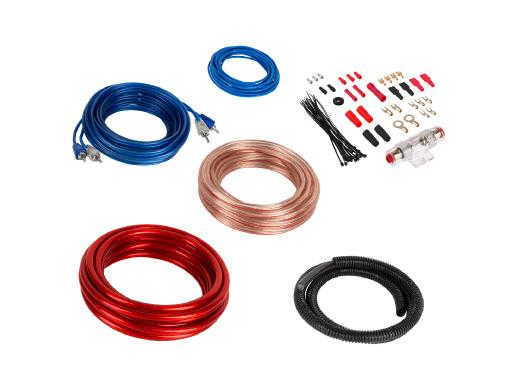 Zestaw kabli do wzmacniacza KM0010 Kruger&Matz
