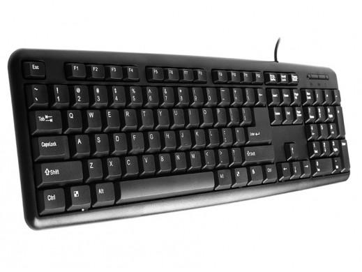 Klawiatura USB Patriot TRK-115 czarna Tracer