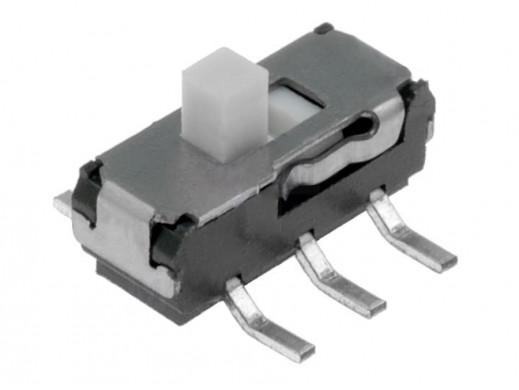 Przełącznik suwakowy 2pozycje 6pin 2mm MSS2235S 0,3A 6V ON-ON smd