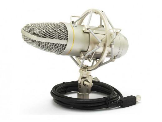 Mikrofon studyjny pojemnościowy t.bone SC440 USB