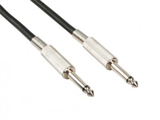 Przewód, kabel jack 6.3mm 5m HQPower mono