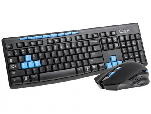 Zestaw klawiatura z myszką KOM0745 Gamer Quer