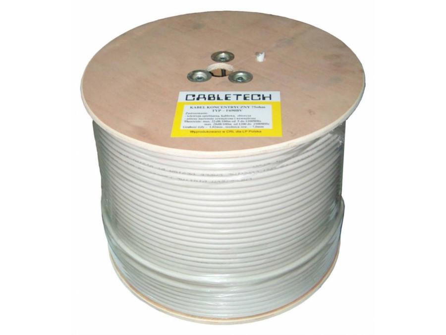 Kabel koncentryczny RG-6U CCS Cabletech (rolka305m)