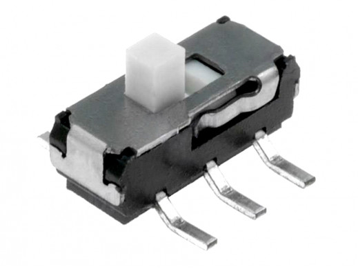 Przełącznik suwakowy 2pozycje ON-ON 6pin 0,3A 6V MSS2235