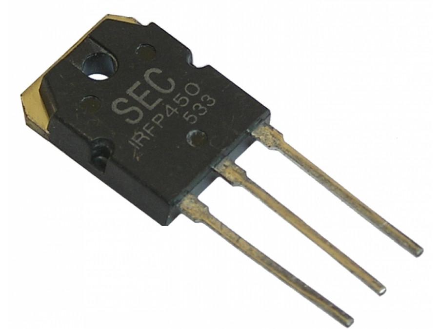 Tranzystor IRFP450 MOS 14A 500V TO247AD
