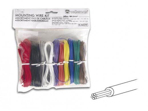 Zestaw kabli montażowych -...
