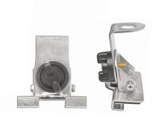 Uchwyt CB bagażnik ZG923 Titanium regulowany