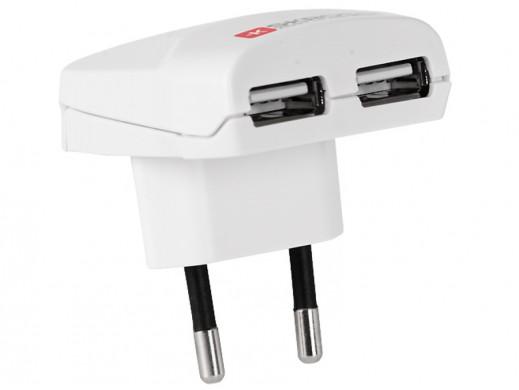 Ładowarka sieciowa USB Euro...