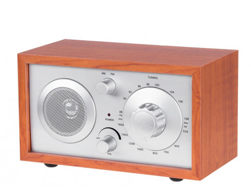 Radio FM E-3023 drewniana...