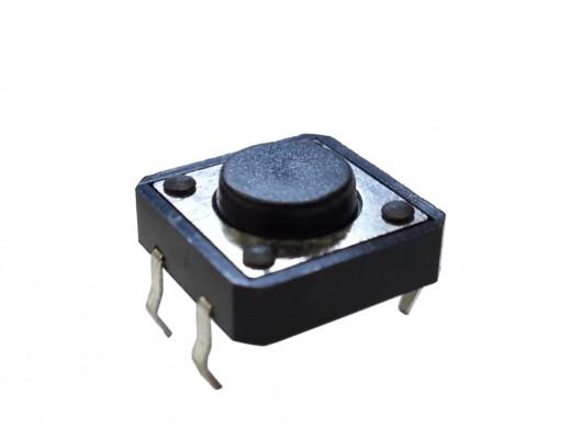 Mikroswitch Poziomy KW 12*12mm H-5mm 4 pin