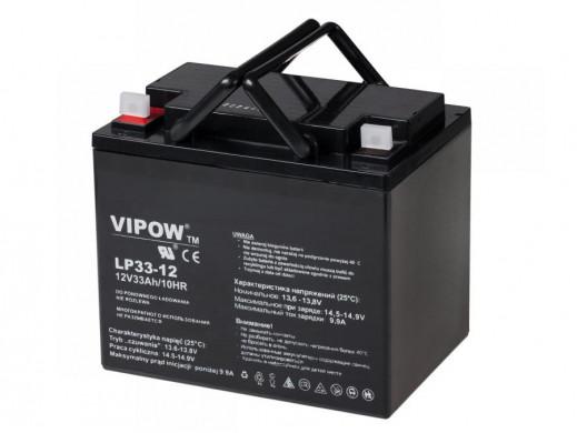 Akumulator żelowy VIPOW 12V 33Ah
