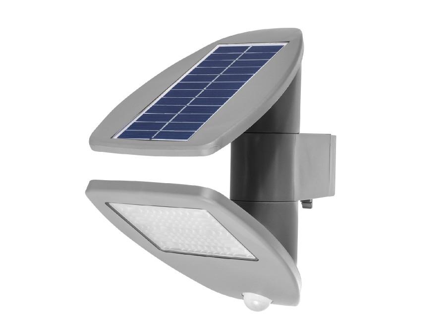 Solarna lampa ścienna z czujnikiem ruchu GreenBlue GB921