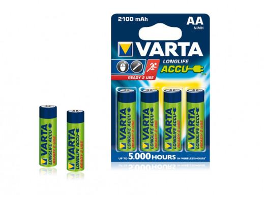 Akumulatorek AA 2100mAh Varta