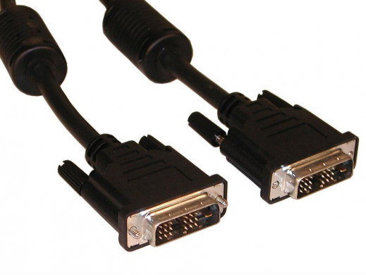 Przewód, kabel DVI-DVI 3m 24+1 Vitalco