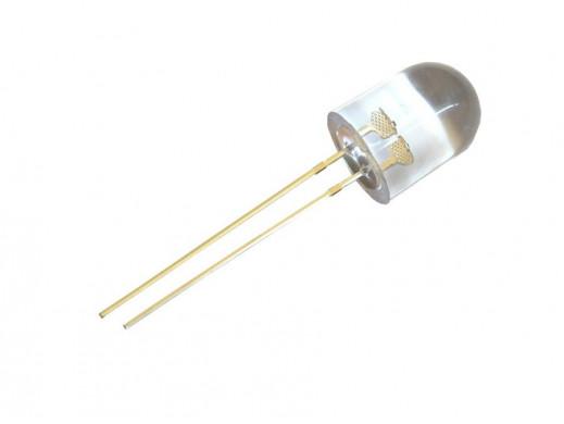 Dioda LED 10mm 12V biała