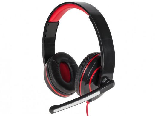 Słuchawki nagłowne z mikrofonem KOM0599 Quer