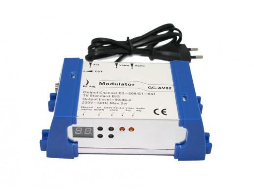 Modulator GC-AV02 Sat Digital