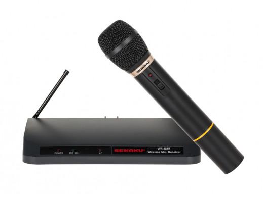 Mikrofon UHF WR-801/SUT-801 jednokanałowy Seikaku bezprzewodowy