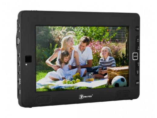 """Telewizor przenośny LCD 9"""" z tunerem DVB-T Cabletech"""