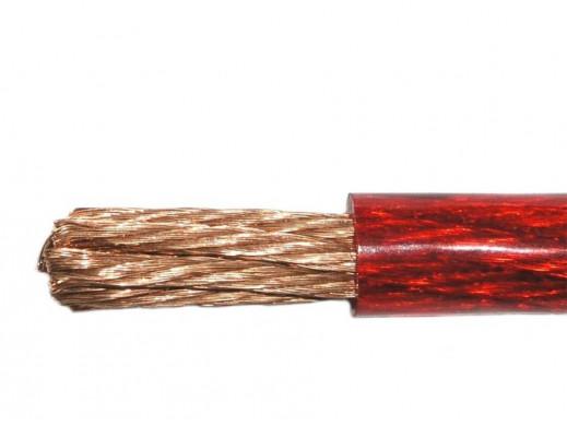 Kabel samochodowy 10Ga 5.22mm czerwony