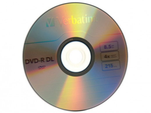 Płyta DVD-R 8,5gb Verbatim Dual Layer w pudełku