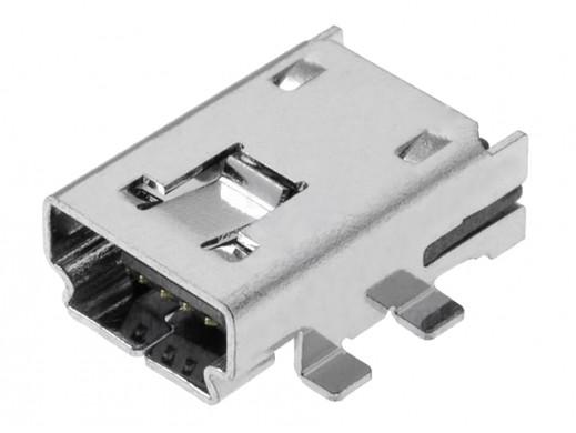 Gniazdo mini USB typ A smd...