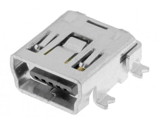 Gniazdo mini USB typ B smd...