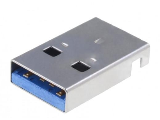 Wtyk USB 3.0 poziome...