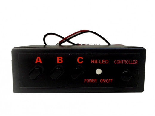 Sterownik LED ABC efekt stroboskopowy