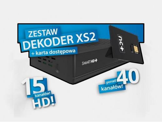 Zestaw tuner Globo HD XS2 z...
