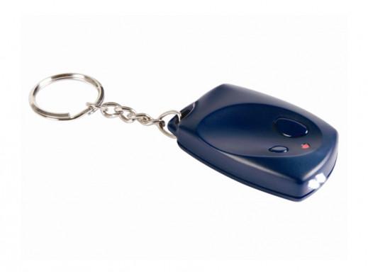 Breloczek do kluczy z diodą LED MK143 Velleman zestaw do samodzielnego montażu