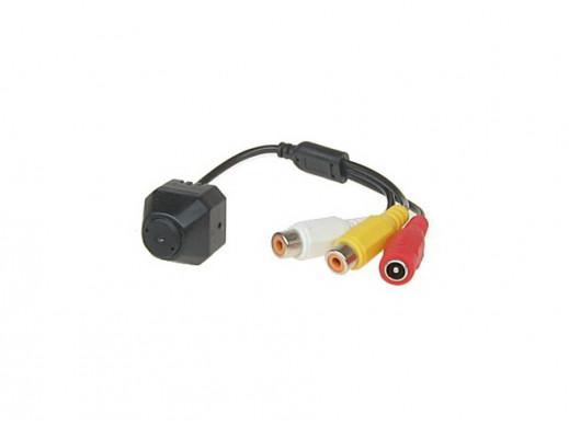 Kamera mini kolor Cmos-20 380TVL 4mm 3,0lux 9V 50mA audio