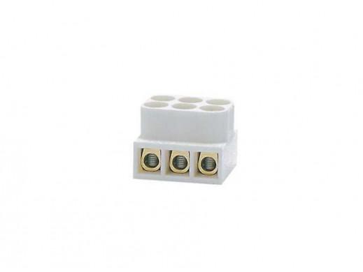Listwa zaciskowa LTE3-2,5 2,5mm2 3 tory biała Simet