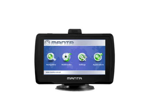 Nawigacja Manta GPS460 mapa...
