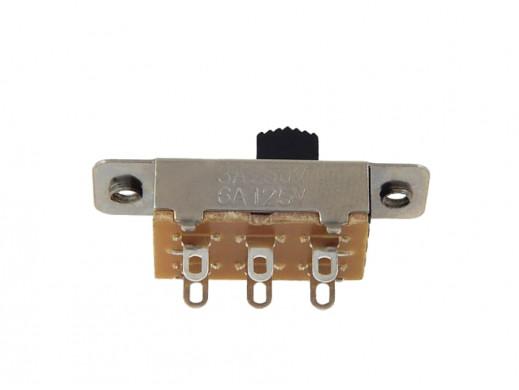 Przełącznik suwakowy 2 poz 6pin KBB70-2p2W 23mm