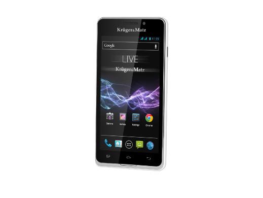 "Smartfon 4.5"" KM0404 LIVE Kruger&Matz biały"