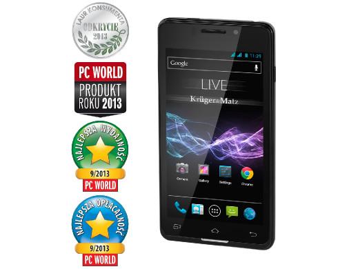 """Smartfon 4.5"""" KM0403 LIVE..."""