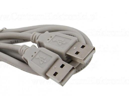 Przewód USB A Wtyk-Wtyk 3m