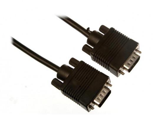 Przewód, kabel VGA-SVGA 1.8m Velleman