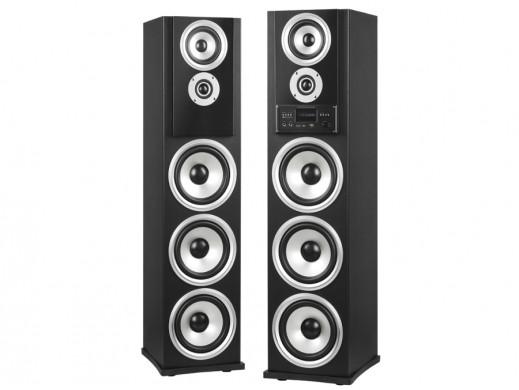 Zestaw kolumn głośnikowych FM/MP3/Karaoke Azusa