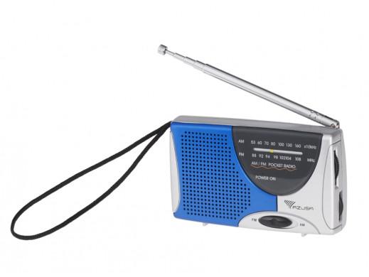 Przenośne radio kieszonkowe AM/FM R-2307 Azusa