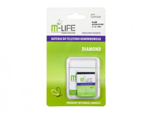 Bateria do Nokia N76 6111 1100mAh BL-4B M-Life