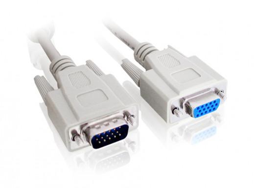 Przewód, kabel SVGA...