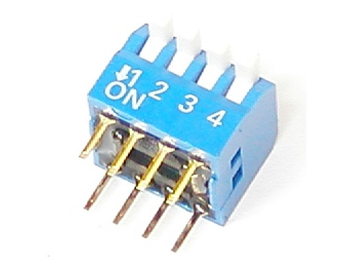 Przełącznik DIP-4 switch...