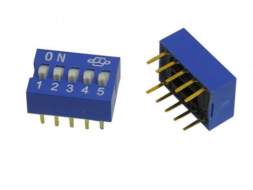 Przełącznik  DIP switch 5 torów