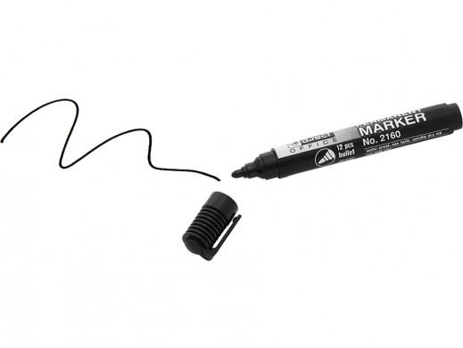 Marker permanentny czarny...